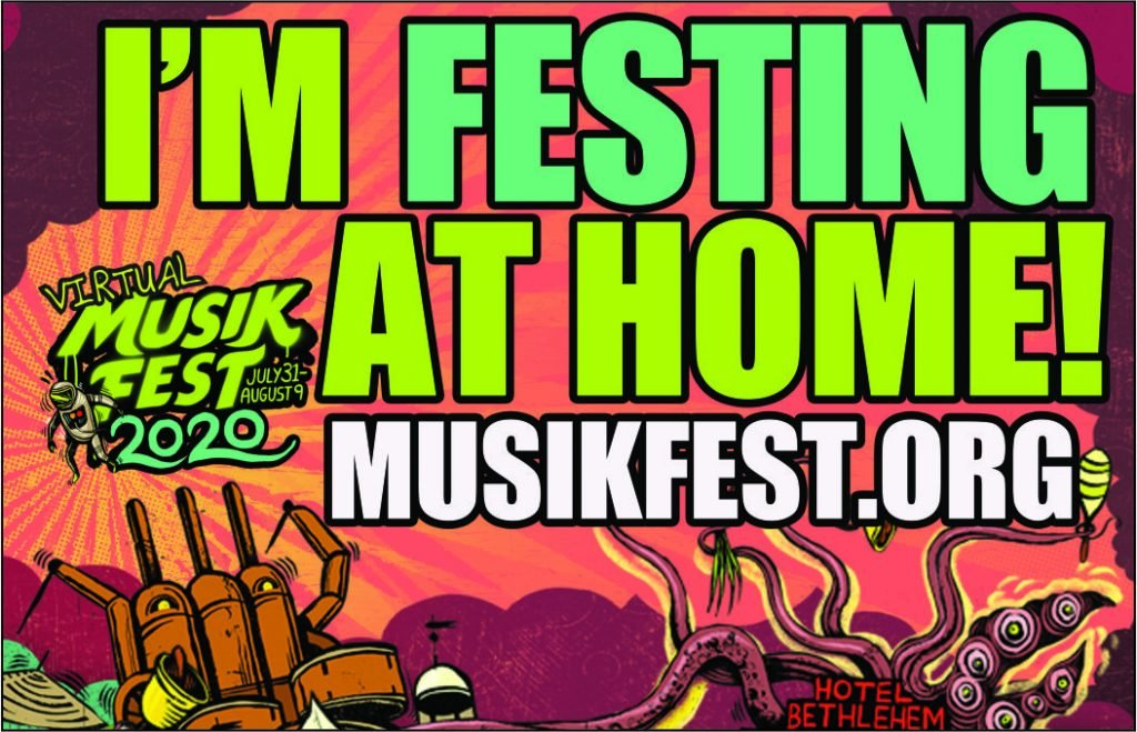 Advertisement for Virtual Musikfest 2020