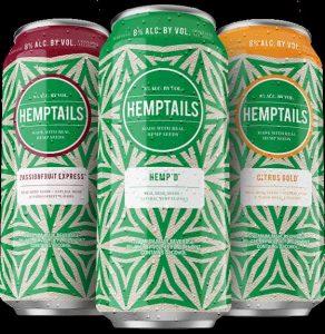 Three Flavors of Hemptails on White Background
