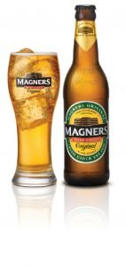 Magners Irish Cider Bottle and Glass