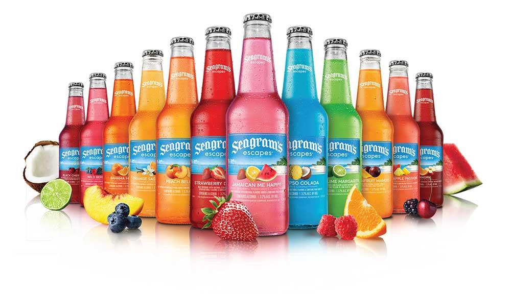 Seagrams Escapes beverages