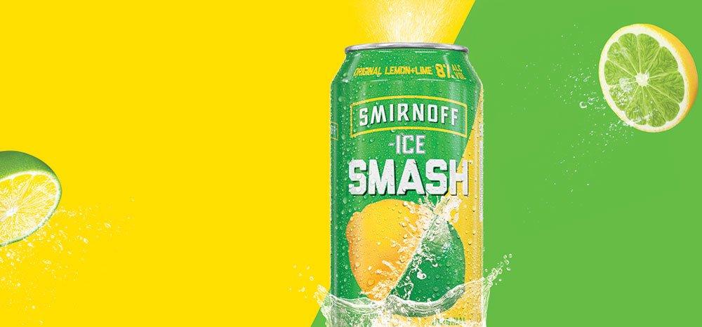 Smirnoff Ice Smash Can