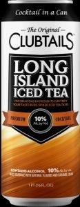 Closeup of Original Clubtails Long Island Ice Tea Can