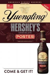 Advertisement for Yuengling Hershey's Chocolate Porter