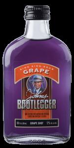 Closeup of Johnny Bootlegger Sing Sing Sour Grape Bottle