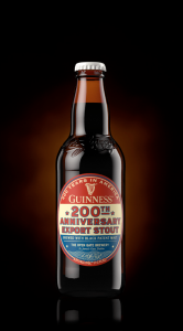 Bottle of Guinness 200th Anniversary Export Stout