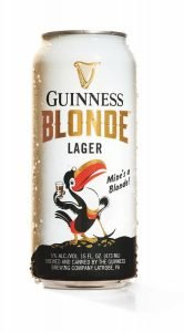 Can of Guinness Blonde Lager