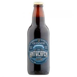 Bottle of Guinness Antwerpen Stout Ale