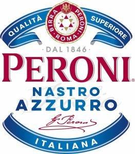 Peroni Nastro Azzuro Italiana Logo