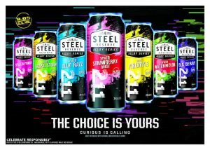 Steel Reserve Choice Is Yours Advertisement