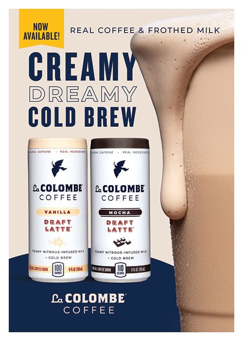 Creamy Cold Brew La Colombe Coffee in Vanilla and Mocha